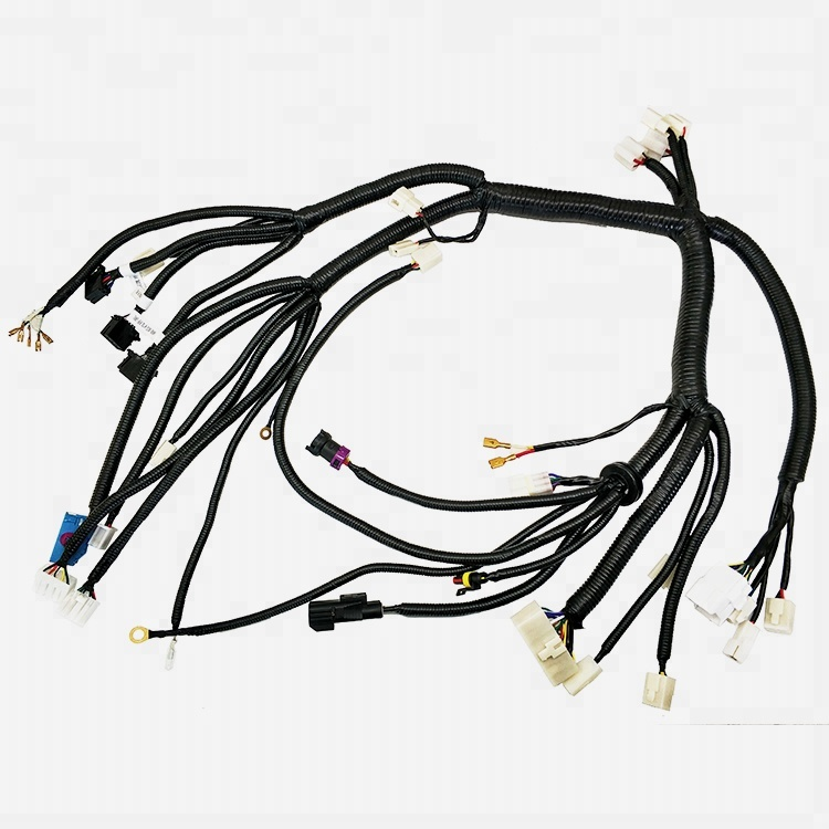 Automotive wiring harness car harness wire Instrument Panel assembly car waterproof connector plug