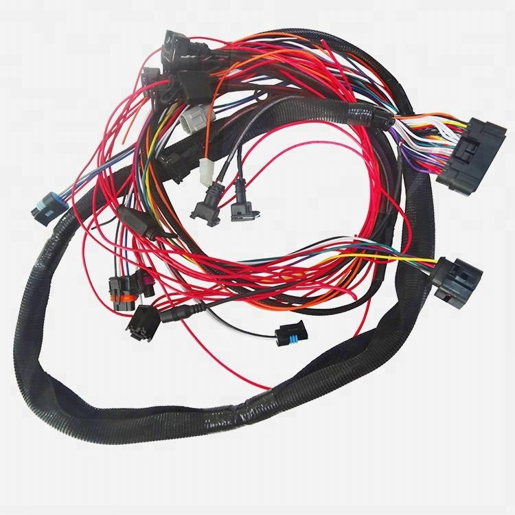Car engine wiring harness for quick fuel injector vehicle wire harness car engine auto engine wire harness manufacturer