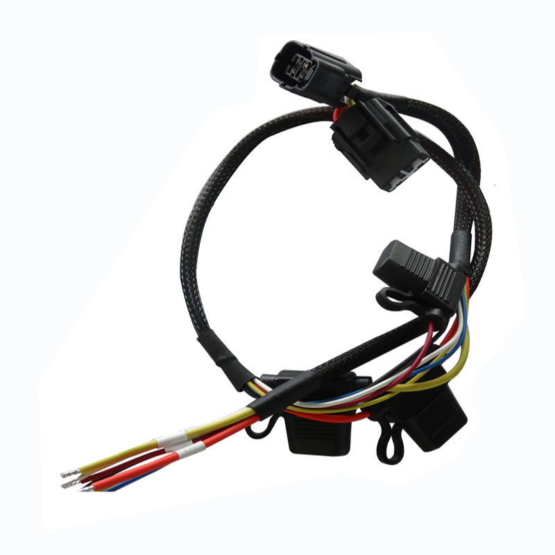 ECU power supply customize wire harness